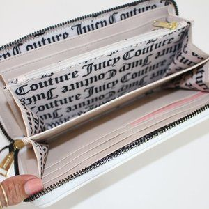 Juicy Couture Wallet with Pink Roses